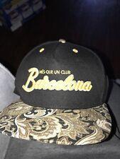 Fc Barcelona Hat, Adjustable SnapBack