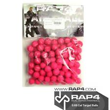 .68 Cal Palle target per Paintball sistema Target-ROSSO (SACCHETTO DI 100) [ P4 ]