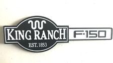 NEW WHITE F150  KING RANCH EST.1853 Fender Tailgate Emblem Badge For Ford F150