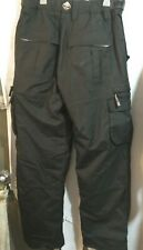 Ski pants Oepro Ocean Earth men's size 38 Black