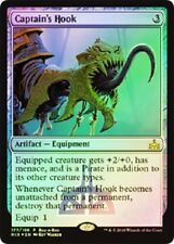 Rivals of Ixalan  MTG Foil Captain's Hook  Magic Rare Buy A Box Promo