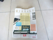 piano miracle nintendo nes notice pour pack FRA