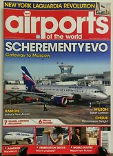 Airports of the World Nov Dec 2015 Scherementyevo Moscow  FREE SHIPPING sb