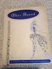 """VINTAGE WEDDING ALTAR BOUND """"NEW"""" BY PEARCE & RODGERS 1960"""