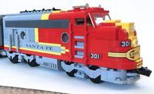 Lego 10020 Santa Fe Super Chief Replacement Sticker Sheet & Portholes Cut Vinyl