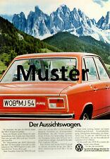 Ansichtskarte: VW Käfer, 1600, K70 verschiedene Werbebilder - ansehen