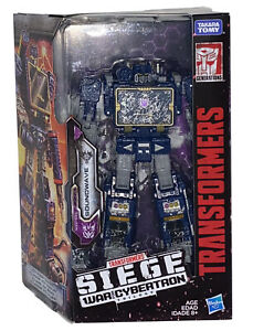 Soundwave Transformers Siege War For Cybertron Action Figure Decepticon New TOMY