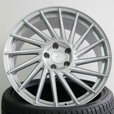 "18"" ET45 5x112 Keskin KT17 Silber Alufelgen für Audi A3 3.2l & S3 8P, 8PA"