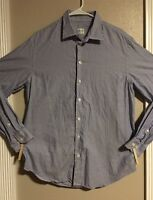EUC>>Men's>>Shirt>>Armani>>Size L>>Long Sleeve>>Button Down>>100% Cotton