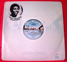 """Cissy Houston PENSATECI 12""""UK ORIG 1978 private Stock un ombrello CANZONE VINILE"""