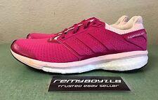 Adidas Supernova Glide 8 Pink White Women's Sz 12 Running Shoes Boost NEW!!!