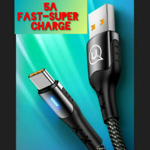 5A Super Fast Charging Type-C USB Cable For Samsung Galaxy-Huawei  USAMS