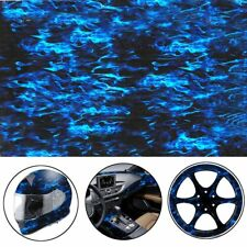 0.5M*10M  Water Transfer Printing Film, Hydrographic film, BLUE FLAMES