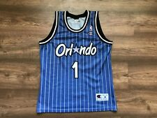 NBA ORLANDO MAGIC BASKETBALL SHIRT JERSEY CHAMPION #1 ANFERNEE HARDAWAY