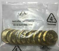 2020 $1 QANTAS Spirit of Australia 100 Years - Mint Bag of Coins ** FREE POST **