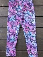 NEW Girls Kids Children Hello kitty Pink Cotton Cute Slim Leggings Pants 2 Years