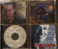 Lot Of 8 Used Rock CDs Black Sabbath Journey Springsteen Stevie Ray Vaughan