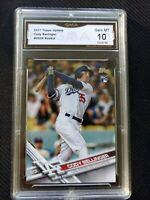 Cody Bellinger 2017 Topps Update #US50 GMA 10 RC Dodgers MVP PSA BGS SGC