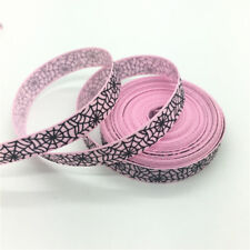 "5yds 3/8"" 10mm Printing Grosgrain Ribbon Hair Bow DIY Sewing #151-160"