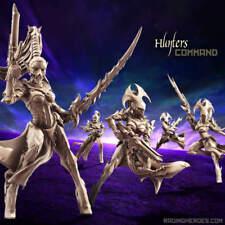 Raging Heroes - Void Elves Hunters - Command Group (Sci Fi) - NEW - Dark Eldar
