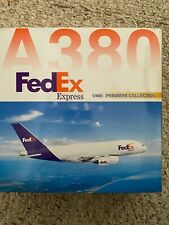 DRAGON WINGS . 1:400 FedEx Airbus A380 PREMIERE COLLECTION