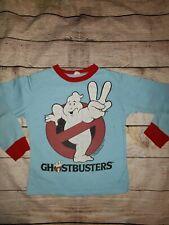 Vintage 1989 GhostBusters Pajama Shirt Boys 12-14