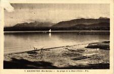 CPA Excenevex La plage et la Dent d'Oche (618550)