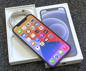 Apple iPhone 12 (A2403), 64GB, UNLOCKED, Black, good+box+warranty -602