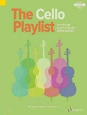 The Cello Playlist 50 Popular Classics in Easy Arrangements Book New 049045387