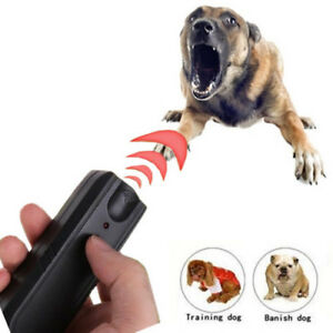 Ultrasonic Anti Bark Control Stop Barking Dog Training Repeller Device Defence u