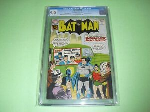 Batman #151 CGC 9.0 w/ OW/W pages from 1962! Batwoman app not CBCS