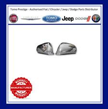 Alfa Romeo MiTo & Giulietta Pair Polished Chrome Mirror Covers / Caps GENUINE