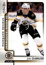 2017-18 O-Pee-Chee Marquee Rookie Jake DeBrusk RC Bruins