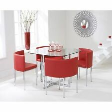 Kitchen Glass Up to 4 Table & Chair Sets