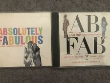 CD Singles AbFab. Pet Shop Boys Absolutely Fabulous, I am thin and Gorgeous DJs