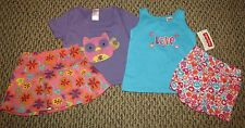 Girl's Spring Summer Outfit Four Piece Lot Size 12M NEW Fisher-Price