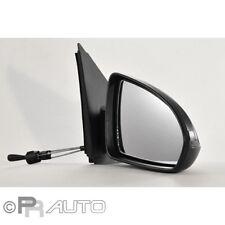 Smart Fortwo (451) 01/07- Außenspiegel Spiegel rechts schwarz manuell Kabel
