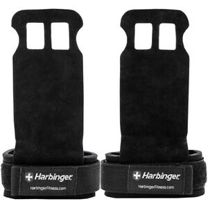 Harbinger Protective Strength Training Lift Assist Palm Grips - Black
