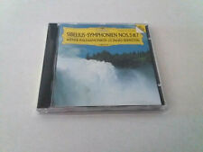 """LEONARD BERNSTEIN """"SIBELIUS SYMPHONIEN Nos 5 & 7"""" CD 9 TRACKS COMO NUEVO WIENER"""