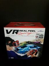 Mobile Phone Virtual Reality Car Racing Gaming System Bluetooth Steering Wheel