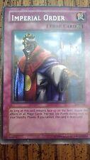 YuGiOh Card - Imperial Order PSV-104 Secret Rare (VG)