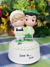 Love is kim Music Box Love Is Lucky Irish Couple Musical