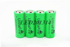 4x UltraFire 26650 3.7V 8000mAh Rechargeable Li-ion Battery For Led Flashlight
