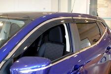 Nissan Qashqai 2014 Puerta Lateral viento desviadores Conjunto de 4 Nuevo + KE8004E010 Original