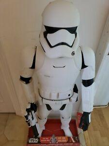 Figurine Disney Star Wars grande figurine RARE 1m25 Stormtrooper + SOUND