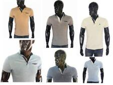 Schlanke-Größen Herren-Freizeithemden & -Shirts mit V-Ausschnitt