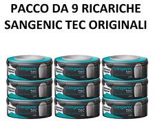 Tommee Tippee 9 ricariche Sangenic TEC ORIGINALI Mangiapannolini ANTIBATTERI