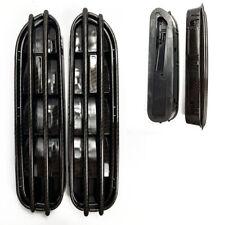 E60 M5 Style Carbon Fiber Look Side Fender Grille Vent Euro Vehicle
