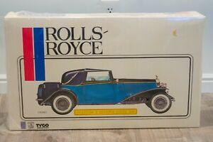 Pocher Rolls-Royce Phantom II Sedanca Coupe 1932 1:8 Tyco K 72 FACTORY SEALED