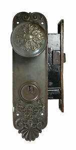 Antique Sargent Company Door Lock Assembly As Is As Found